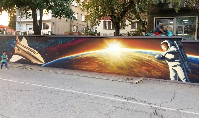 Jahone street art mural