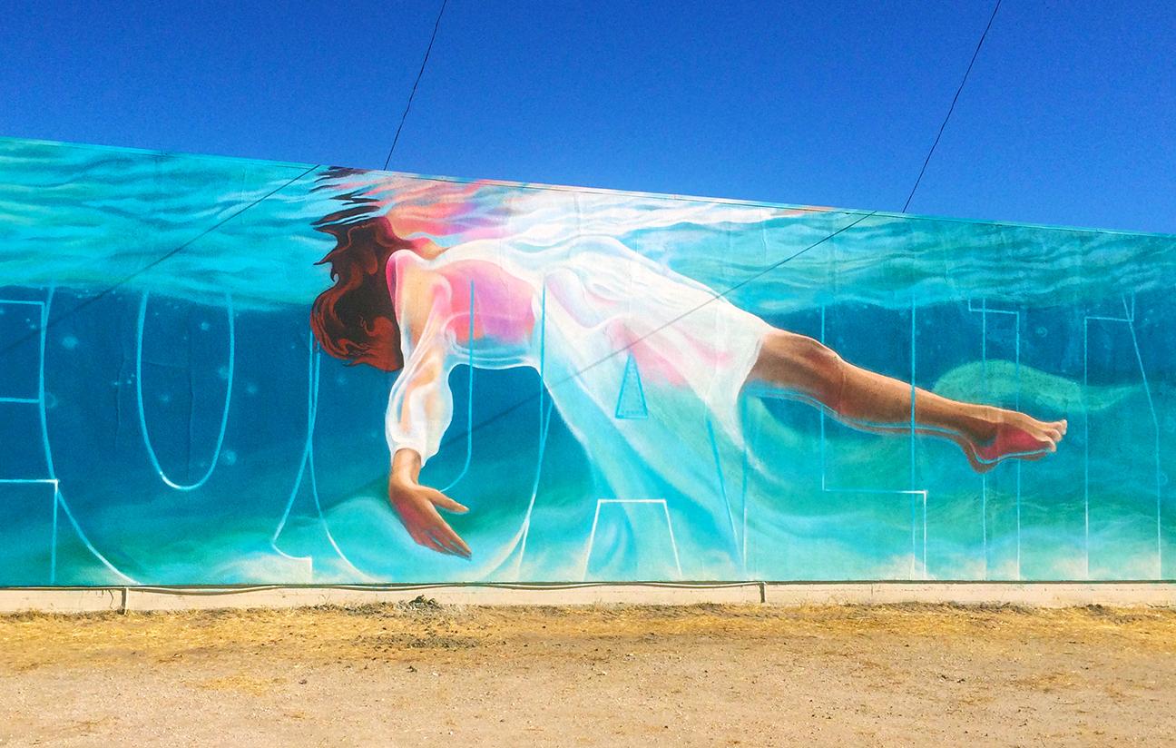 Jahone mural street art