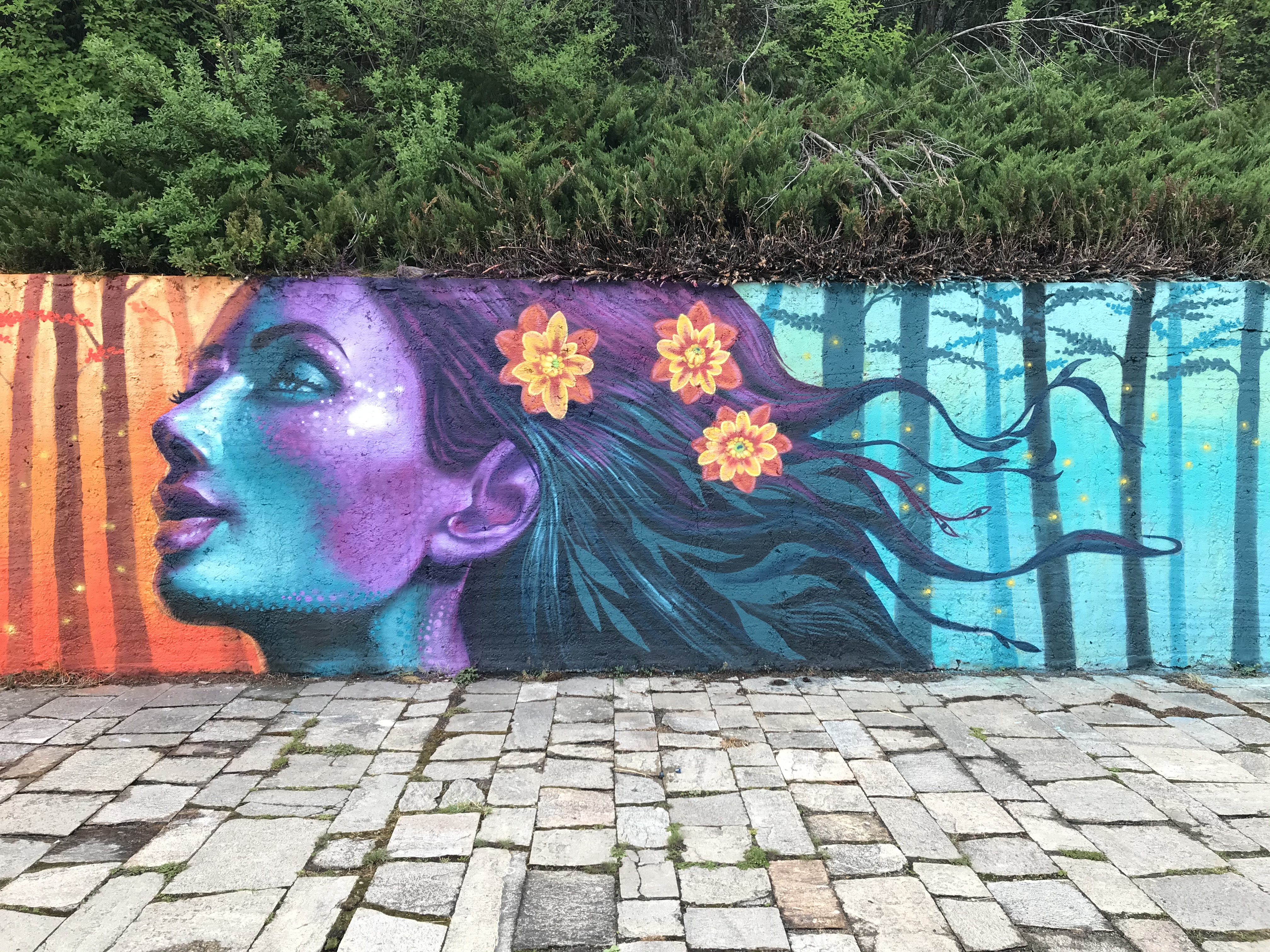 Jahone mural streetart
